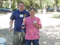Mike LeBlanc and his partner, Stephan Cousineau